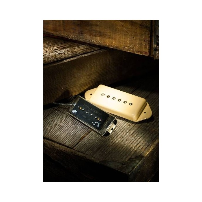 LOLLAR PICKUP - UNDERWOUND P90 DOG EAR NECK PICKUP