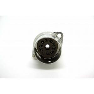 9 PIN BELTON TUBE VACUUM SOCKET SHIELD BASE FOR PCB 12AX7 12AU7 12AT7 EL84 5751