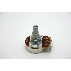 POTENTIOMETER 500K A500K LOGARITHMIC 24mm METRIC MOD.1