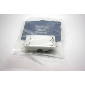 BATTERY WHITE BOX FOR DUNLOP CRYBABY WAH PEDAL AND VOLUME PEDAL - ECB244WH