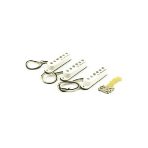 KENT ARMSTRONG HANDWOUND SINGLE COIL-TRISONIC PICKUP SET - WHITE