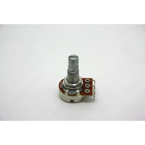 MINI POTENTIOMETER A500K 500K 16MM WITH LONG SHAFT - AUDIO LOGARITHMIC POT