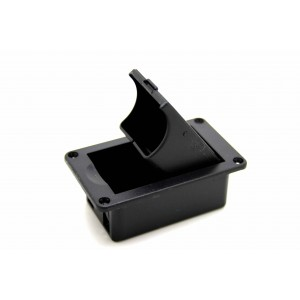 9V BATTERY BOX HOLDER CASE COMPARTMENT COVER HORIZONTAL FOR ACTIVE BASS GUITAR