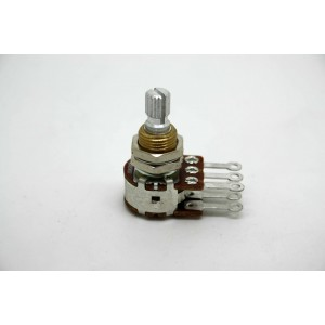 BOURNS DUAL POTENTIOMETER A500K 500K LOGARITHMIC WITHOUT DETENT CENTER