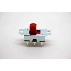 RED 2 WAY ON-ON SLIDE SWITCH FOR FENDER JAGUAR OR JAZZMASTER