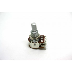 BOURNS 250K DUAL SOLID SHAFT POTENTIOMETER BLEND / BALANCE CENTER DETENT MN250K