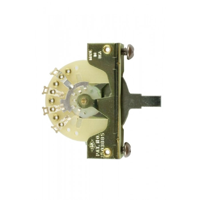 CRL 5-WAY PICKUP SELECTOR SWITCH FOR FENDER STRATOCASTER TELECASTER
