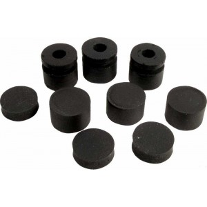 GENUINE DUNLOP 12 PIECES GROMMETS ECB124 FOR CRYBABY GCB95 535Q 95Q JH1B WAH
