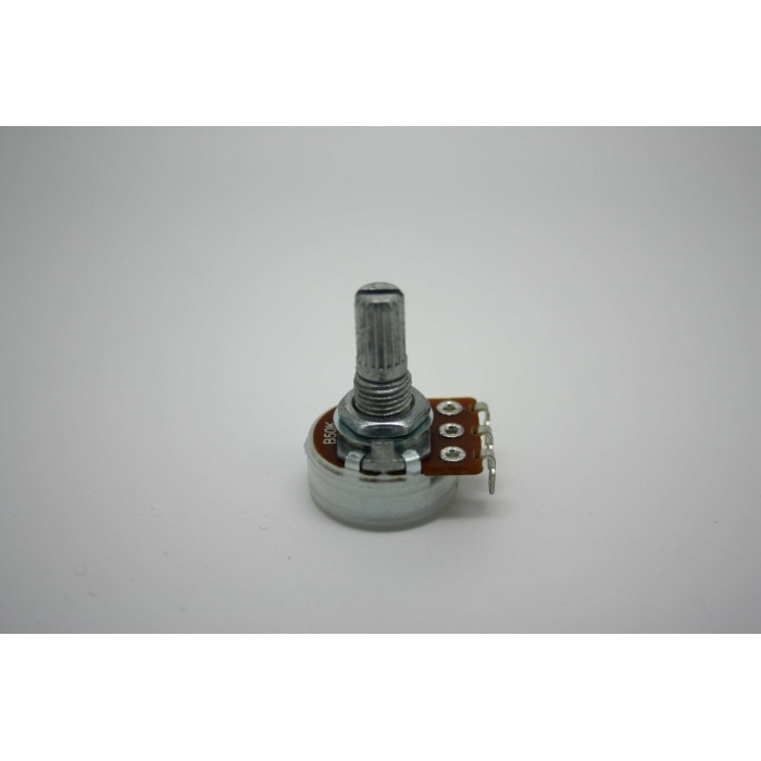MINI POTENTIOMETER ALPHA B50K 50K 16mm LINEAR POT - POTENCIOMETRO LINEAL