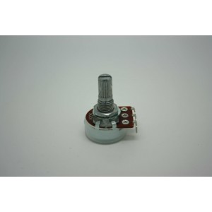 MINI POTENTIOMETER ALPHA A20K 20K 16mm AUDIO LOGARITHMIC POT - POTENCIOMETRO
