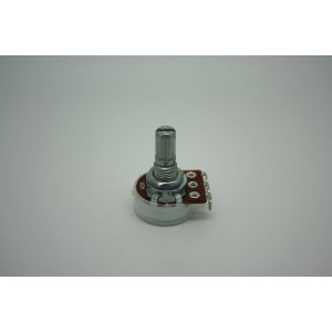MINI POTENTIOMETER ALPHA A5K 5K 16mm AUDIO LOGARITHMIC POT - POTENCIOMETRO
