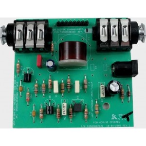 ORIGINAL ECB025I PC BOARD DUNLOP CRYBABY WITH RED FASEL INDUCTOR!
