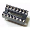 "5x ZOCALOS DIP14 PCB IC SOCKET DIL/DIP-14 7.62mm 0.3"""