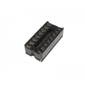 5x SOCKETS DIP16 PCB IC DIL...
