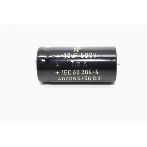 F&T CAPACITOR 10uF 500V FOR...