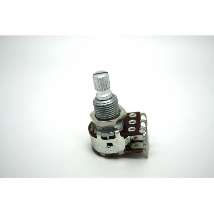 BOURNS 500K DUAL POTENTIOMETER POT AUDIO OR LINEAR WITH CENTER DETENT
