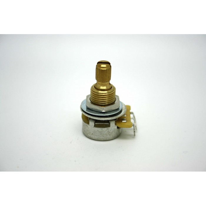 GENUINE PREMIUM CTS MINI POT POTENTIOMETER SPLIT SHAFT 500K AUDIO LOGARITHMIC