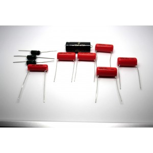 CAPACITOR KIT FOR FENDER PRO-AMP 5D5 MODEL TUBE AMP - AMPLIFIER - AMPLIFICADOR
