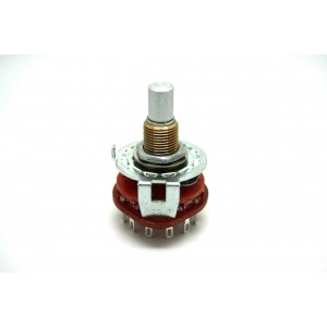 ALPHA ROTARY SWITCH 2 POLE...