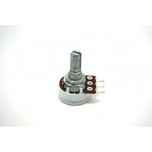 MINI POTENTIOMETER ALPHA A1M 1M 16mm LOGARITHMIC AUDIO PC MOUNT