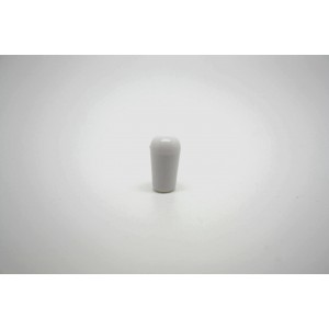SWITCH CAP TOGGLE TIP KNOB WHITE FOR GIBSON OR EPIPHONE - METRIC