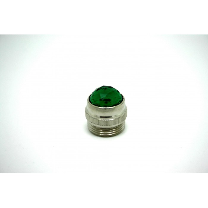 GREEN AMP JEWEL PILOT LIGHT FOR FENDER MESA MAGNATONE PEAVY MESA - LENTE FENDER