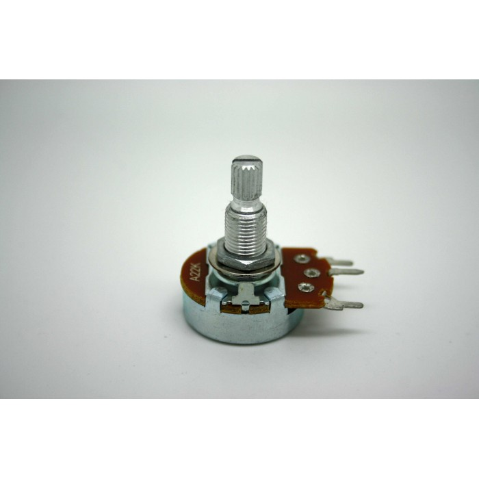 ALPHA POTENTIOMETER 22K A22K 24mm AUDIO LOG ORIGINAL FOR MARSHALL AMPLIFIER PC MOUNT