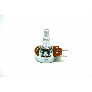 ALPHA POTENTIOMETER B220K 220K 24mm LINEAR ORIGINAL FOR MARSHALL AMPLIFIER PC MOUNT