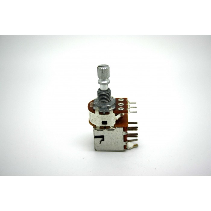 ALPHA MINI POTENTIOMETER 10K W TAPER PUSH-PULL DPDT SHORT SHAFT