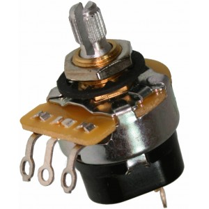 POTENTIOMETER CTS 1M MEG AUDIO PUSH/PULL ON-OFF KNURLED SHAFT - VOLUME CONTROL