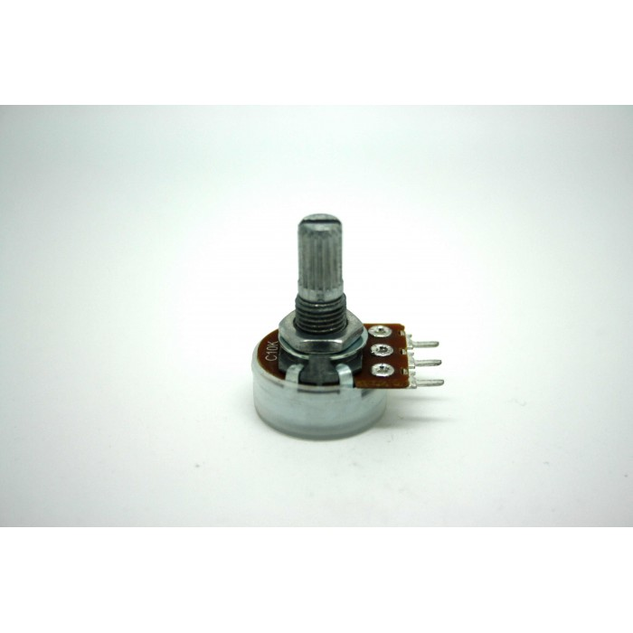 MINI POTENTIOMETER ALPHA C10K 10K 16mm REVERSE ANTI LOGARITHMIC POT