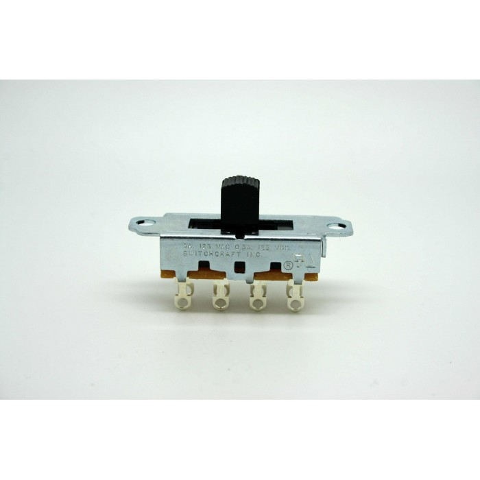 GENUINE SWITCHCRAFT 3 WAY SLIDE SWITCH FOR FENDER MUSTANG OR DUOSONIC GUITAR