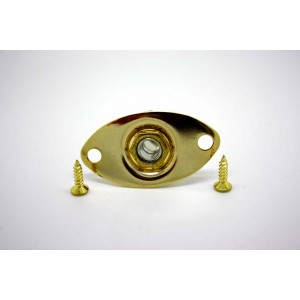 ELECTRIC GUITAR OVAL GOLD...