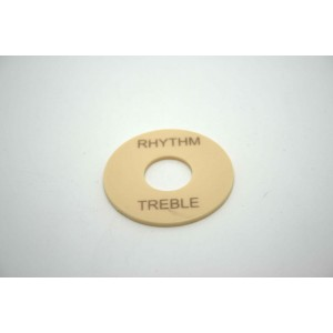 SWITCH WASHER FOR GIBSON PICKUP SELECTOR IVORY CREAM