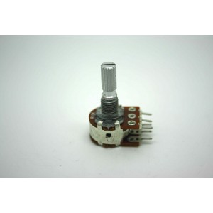 POTENTIOMETER 10K B10K 16mm LINEAR DUAL ORIGINAL FOR MARSHALL AMPLIFIER PC MOUNT