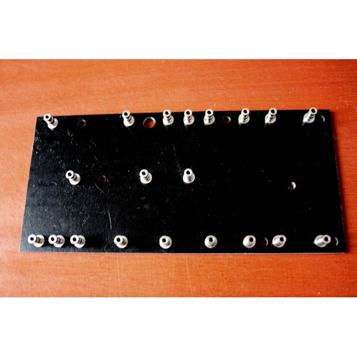 TURRET BOARD 150mm x 70mm FOR FENDER 5F1 CHAMP STYLE WITH 20 TURRETS