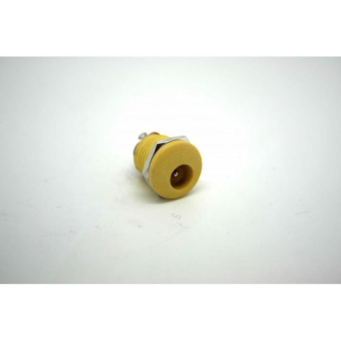 YELLOW DC POWER JACK 2.1mm PCB MOUNT JACK FOR LAPTOP JACK ALIMENTACION BOSS MXR