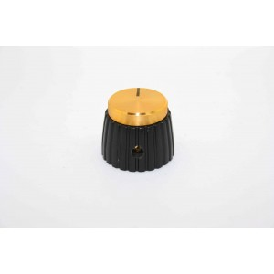 GOLD MARSHALL STYLE KNOB FOR JCM - JMP AND PLEXI MODELS