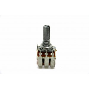 BOURNS 50K LOGARITHMISCHES AUDIO DUAL POTENTIOMETER 16mm RITTERWELLE
