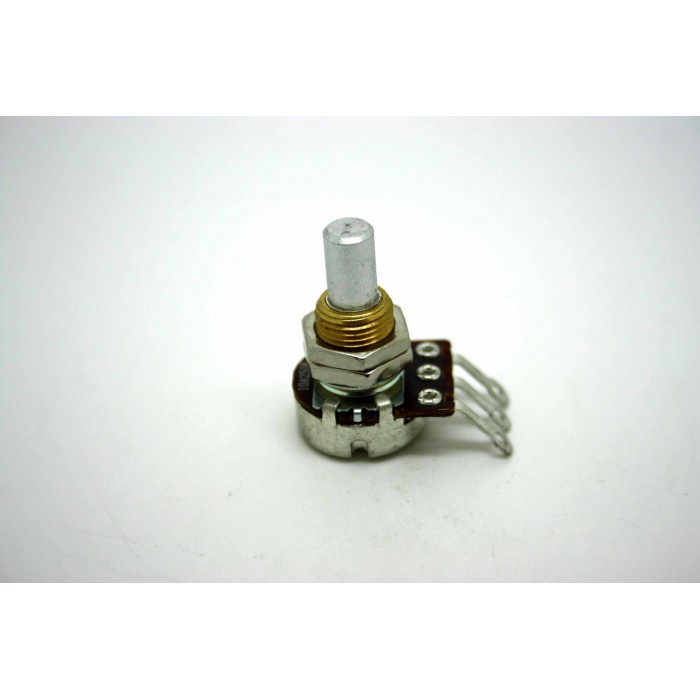 BOURNS 250K A250K AUDIO SOLID SHAFT 16mm MINI POTENTIOMETER POT