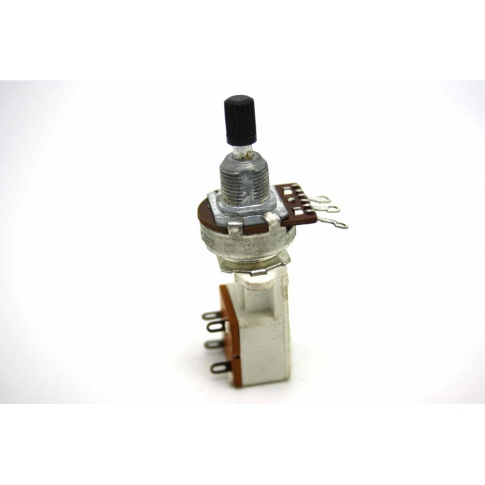 POTENTIOMETER PUSH / PULL FOR MARSHALL JCM25 / 50 SILVER JUBILEE - A7105AD15SW