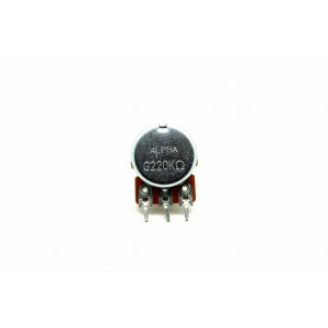 BLACKSTAR POTENTIOMETER G220BK 220K LINEAR BY ALPHA