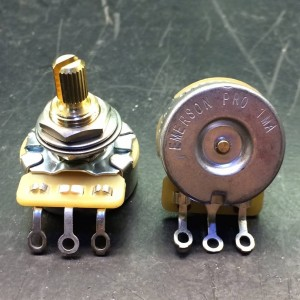 EMERSON PRO CTS 1 MEG 1M 8% TOLERANCE AUDIO TAPER SPLIT WELLENPOTENTIOMETER