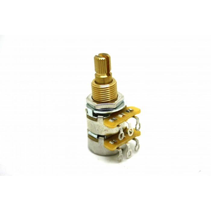 CTS DUAL 250K BLEND-BALANCE AUDIO TAPER POTENTIOMETER MIT CE NTE R DETENT