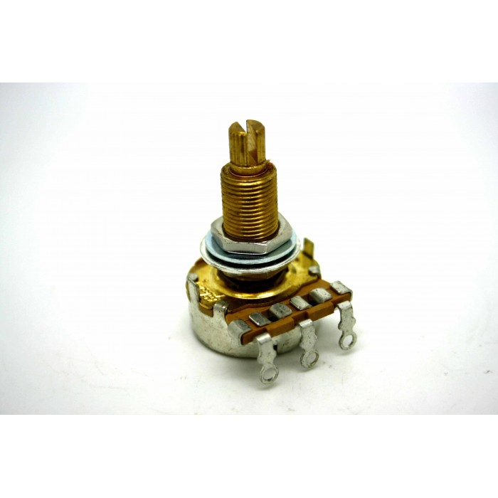 ORIGINAL GIBSON POTENTIOMETER 300K LINEAR LONG SHAFT - MADE BY CTS
