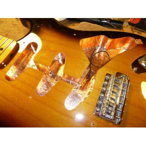 1 MT x 50mm GUITAR SHIELDING PICKUP COPPER FOIL EMI - CINTA DE COBRE PARA APANTALLAR TU GUITARRA