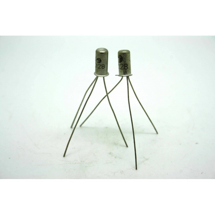 2x GENUINE TUNGSRAM AC128 GERMANIUM SMALL SIGNAL TRANSISTORS RANGEMASTER FUZZ