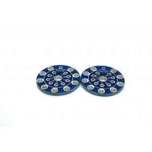 2x 8 PIN SOCKET PCB ADAPTER...