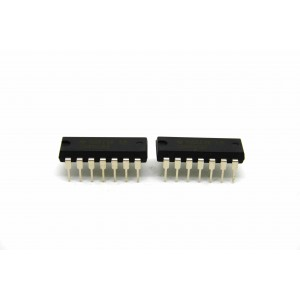 2x GENUINE TEXAS INSTRUMENTS CD4066BE ANALOGUE SWITCH IC QUAD EFFECT PEDALS DIY
