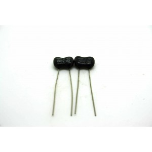 2x SILVER MICA CAPACITOR...